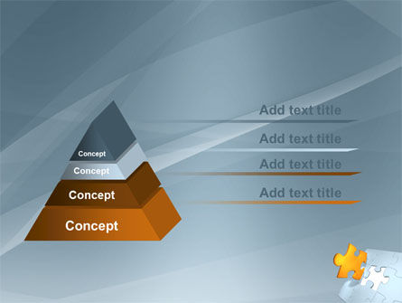 Piece of Puzzle PowerPoint Template Slide 12