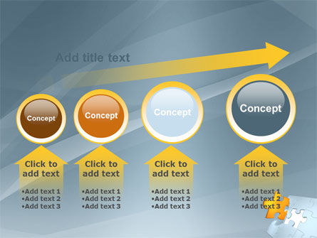 Piece of Puzzle PowerPoint Template Slide 13
