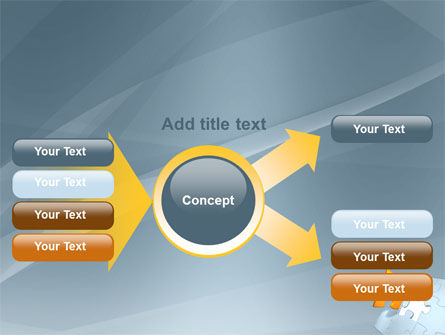 Piece of Puzzle PowerPoint Template Slide 14
