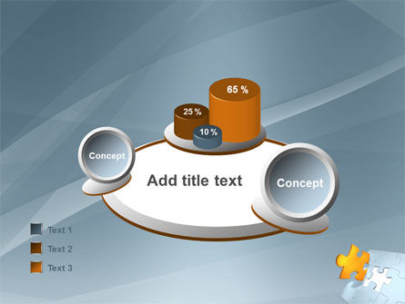 Piece of Puzzle PowerPoint Template Slide 16