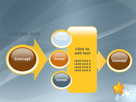 Piece of Puzzle PowerPoint Template Slide 17