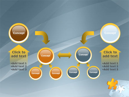 Piece of Puzzle PowerPoint Template Slide 19