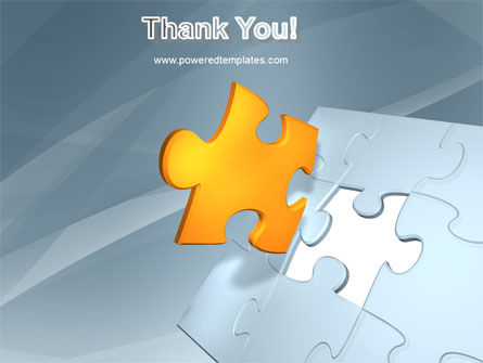 Piece of Puzzle PowerPoint Template Slide 20