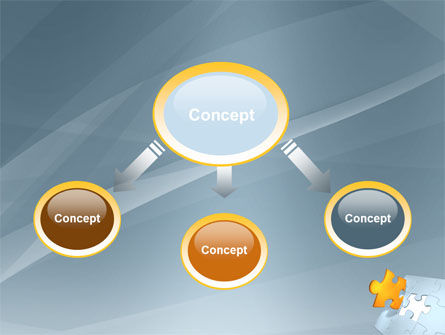 Piece of Puzzle PowerPoint Template Slide 4