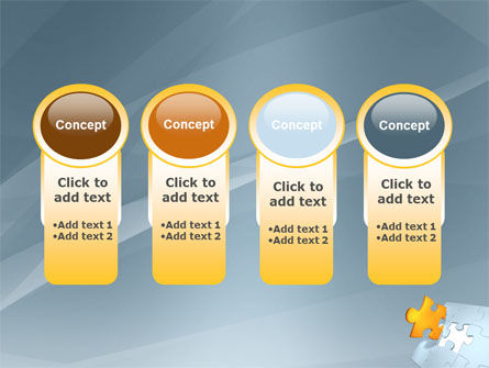 Piece of Puzzle PowerPoint Template Slide 5