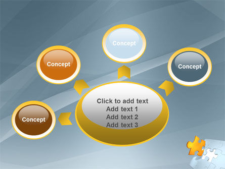 Piece of Puzzle PowerPoint Template Slide 7