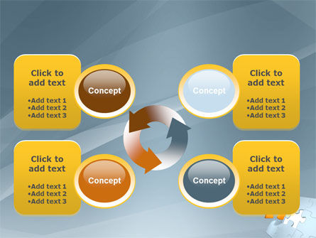 Piece of Puzzle PowerPoint Template Slide 9