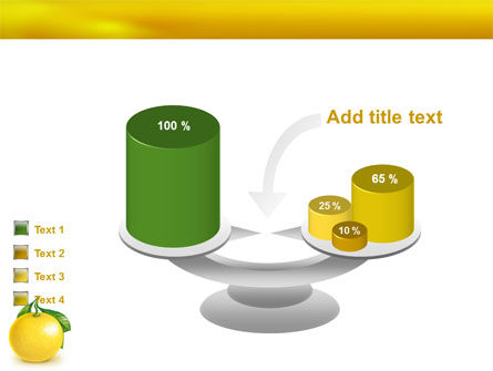 Yellow Citrus PowerPoint Template Slide 10
