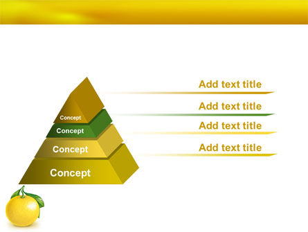 Yellow Citrus PowerPoint Template Slide 12
