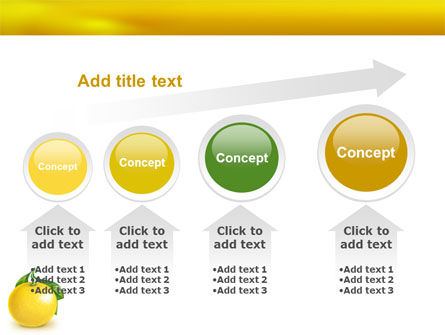Yellow Citrus PowerPoint Template Slide 13