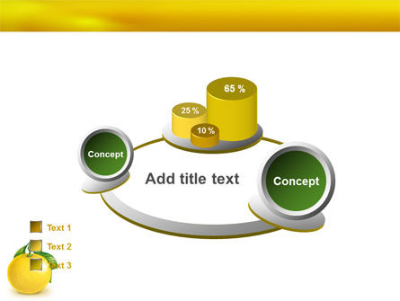 Yellow Citrus PowerPoint Template Slide 16