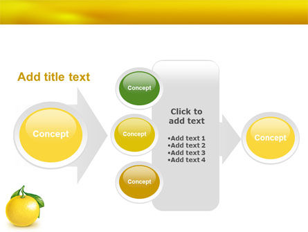 Yellow Citrus PowerPoint Template Slide 17