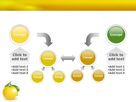 Yellow Citrus PowerPoint Template Slide 19