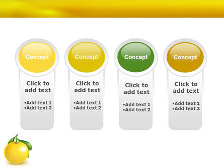 Yellow Citrus PowerPoint Template Slide 5