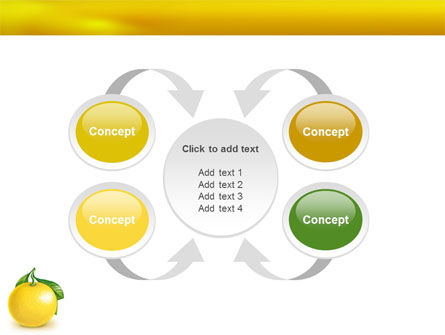 Yellow Citrus PowerPoint Template Slide 6