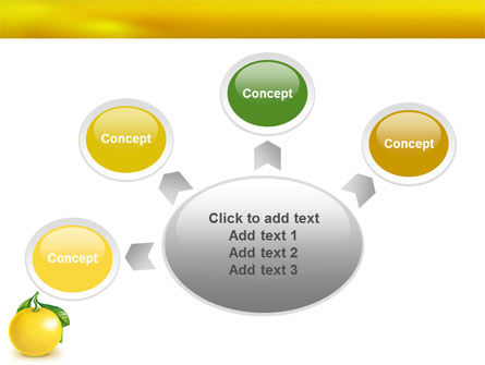 Yellow Citrus PowerPoint Template Slide 7