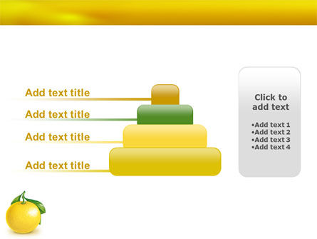 Yellow Citrus PowerPoint Template Slide 8