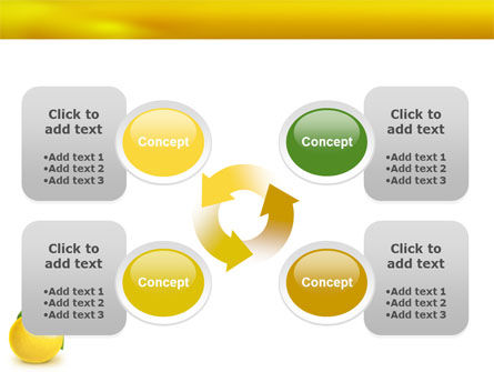 Yellow Citrus PowerPoint Template Slide 9