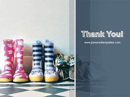 Children's Shoes PowerPoint Template Slide 20