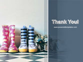 Children's Shoes PowerPoint Template#20