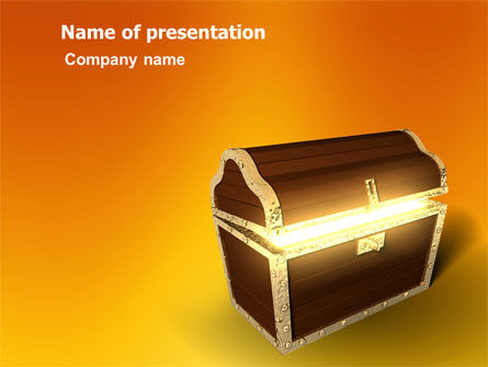 Business Concepts: Treasure PowerPoint Template #03343