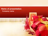 Careers/Industry: Bedroom PowerPoint Template #03345