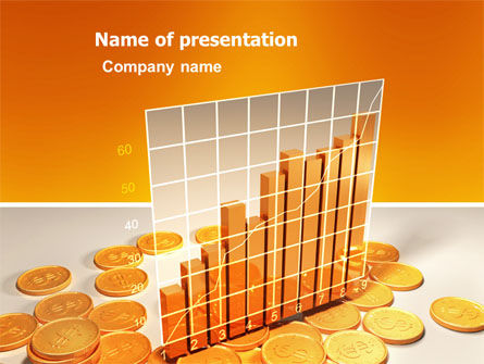 Treasure Diagram PowerPoint Template, 03350, Financial/Accounting — PoweredTemplate.com