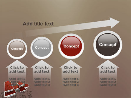 Red Roof Cottage PowerPoint Template Slide 13