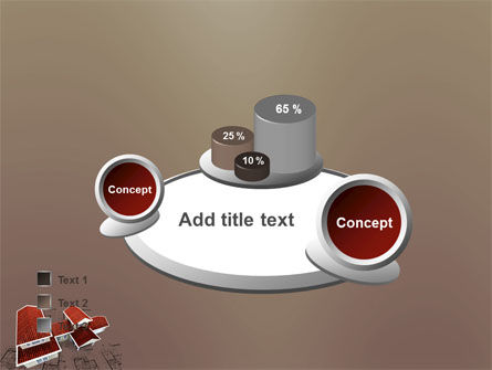 Red Roof Cottage PowerPoint Template Slide 16