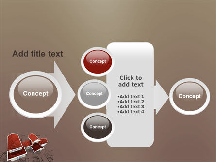 Red Roof Cottage PowerPoint Template Slide 17