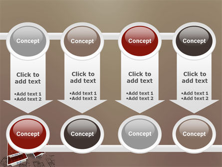 Red Roof Cottage PowerPoint Template Slide 18