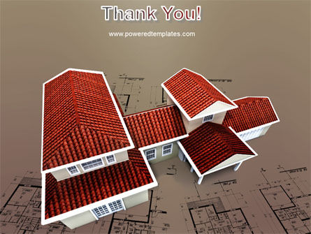 Red Roof Cottage PowerPoint Template Slide 20