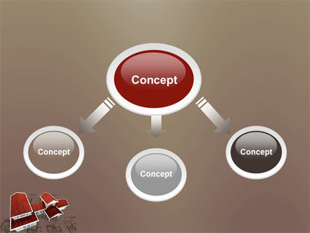 Red Roof Cottage PowerPoint Template Slide 4
