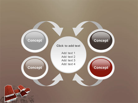Red Roof Cottage PowerPoint Template Slide 6
