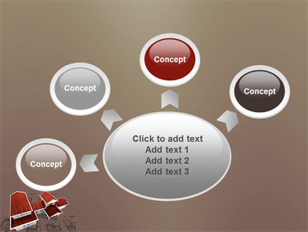 Red Roof Cottage PowerPoint Template Slide 7