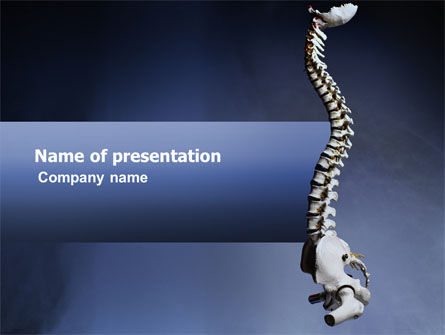 Medical: Backbone PowerPoint Template #03354