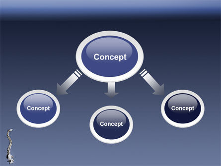Backbone PowerPoint Template, Slide 4, 03354, Medical — PoweredTemplate.com