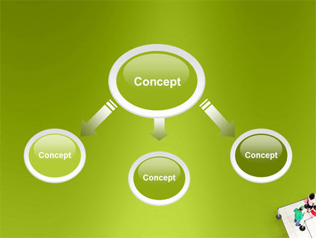 Queue PowerPoint Template, Slide 4, 03355, Consulting — PoweredTemplate.com