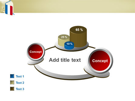 Learning French PowerPoint Template Slide 16