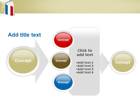 Learning French PowerPoint Template Slide 17