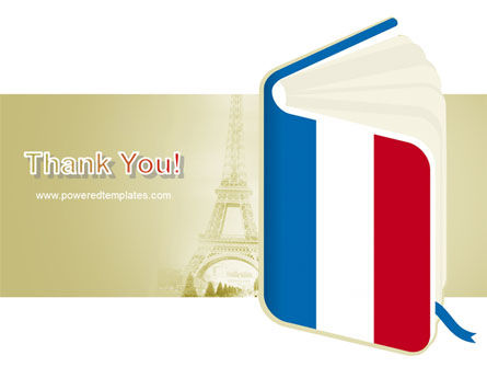 Learning French PowerPoint Template Slide 20