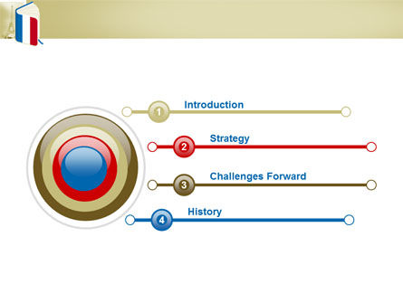 Learning French PowerPoint Template, Slide 3, 03361, Flags/International — PoweredTemplate.com