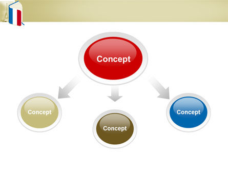 Learning French PowerPoint Template, Slide 4, 03361, Flags/International — PoweredTemplate.com