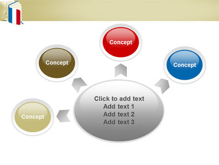 Learning French PowerPoint Template Slide 7