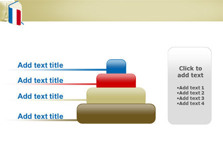 Learning French PowerPoint Template Slide 8