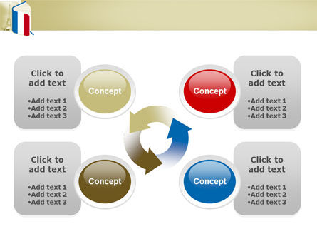 Learning French PowerPoint Template Slide 9