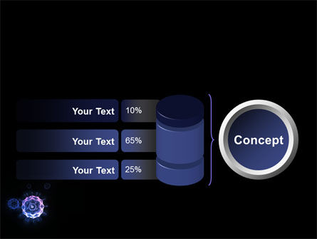 Virus In Dark Blue PowerPoint Template Slide 11