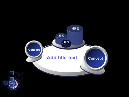 Virus In Dark Blue PowerPoint Template Slide 16