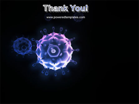 Virus In Dark Blue PowerPoint Template Slide 20