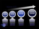 Virus In Dark Blue PowerPoint Template#13
